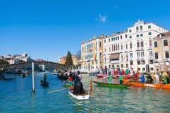 Carnaval anual realizado en Venecia, Italia Fotos de archivo