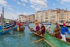 Carnaval anual realizado en Venecia, Italia Imagen de archivo