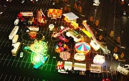 Carnaval au néon photographie stock