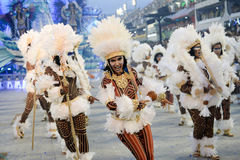Carnaval 2017 - Beija Flor Foto de Stock Royalty Free