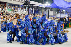Carnaval 2017 - Beija Flor Fotos de Stock Royalty Free