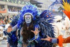 Carnaval 2017 - Beija Flor Fotografia de Stock