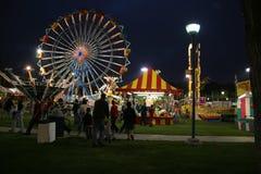 Carnaval bij Nacht Royalty-vrije Stock Fotografie
