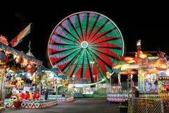 Carnaval bij nacht stock foto