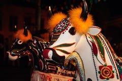 Carnaval Brasil do festival do boi do meu de Bumba Fotografia de Stock Royalty Free