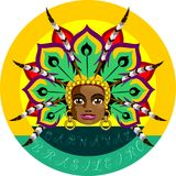 Carnaval brasileiro Ilustração Stock