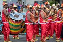 Carnaval in Caraïbisch Guadeloupe, stock afbeeldingen