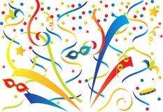 Carnaval coloré Photo stock