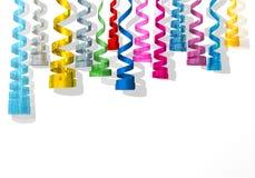 Carnaval colorido das flâmulas Foto de Stock Royalty Free