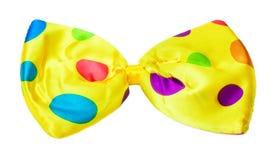 Carnaval, corbata de lazo colorida fotos de archivo