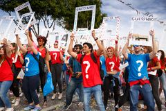 Carnaval in Cyprus stock foto's
