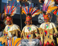 Carnaval 2014 d'Aalst Image libre de droits