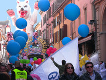 Carnaval d'organisation du traité central les garçons du Guercino 2 Images libres de droits