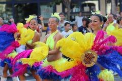 Carnaval da flor de Debrecen imagem de stock