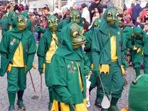 Carnaval da floresta preta, Alemanha Foto de Stock