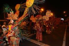 Carnaval da noite Imagem de Stock