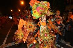 Carnaval da noite Imagens de Stock