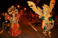 Carnaval da noite Fotografia de Stock