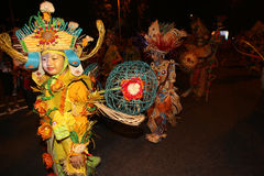 Carnaval da noite Imagens de Stock Royalty Free