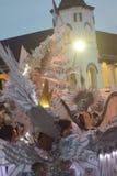 Carnaval 2017 da noite de Semarang Foto de Stock