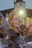 Carnaval 2017 da noite de Semarang Fotografia de Stock Royalty Free