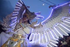 Carnaval 2017 da noite de Semarang Foto de Stock Royalty Free