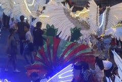 Carnaval 2017 da noite de Semarang Imagens de Stock