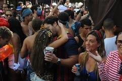 Carnaval da rua em Rio de janeiro, fotos de stock royalty free