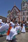 Carnaval dans Arica, Chili Photos libres de droits