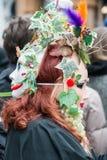 Carnaval dans le masque Venise - l'Italie Image stock