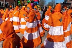 Carnaval dans Oldenzaal, Hollandes image libre de droits