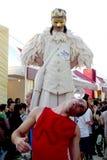 Carnaval dans Veille de la toussaint Images libres de droits