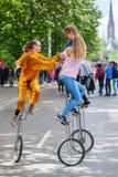 Carnaval das culturas em Berlim, Alemanha Fotos de Stock Royalty Free