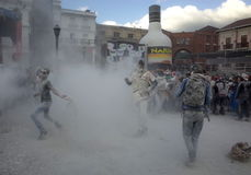Carnaval de布兰科斯y内格罗斯岛 免版税库存图片
