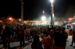 Carnaval de布兰科斯y内格罗斯岛 免版税库存照片