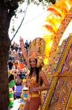 Carnaval de agradável fevereiro em 22, 2012, France Fotografia de Stock