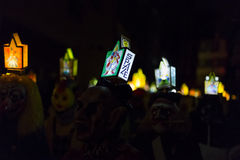 Carnaval 2017 de Bâle Photos stock