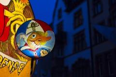 Carnaval 2017 de Bâle Image libre de droits
