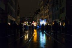 Carnaval 2017 de Bâle Image stock