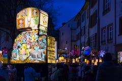 Carnaval 2017 de Bâle Photographie stock libre de droits