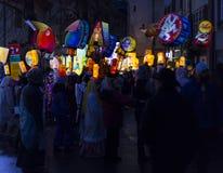Carnaval 2017 de Bâle Images stock