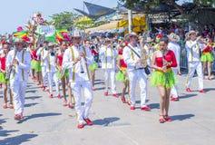 Carnaval de Barranquilla Images libres de droits