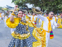 Carnaval de Barranquilla Photos libres de droits