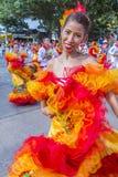 Carnaval de Barranquilla Fotografia de Stock