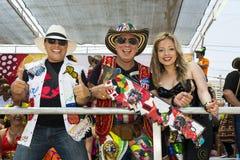Carnaval de Barranquilla, en Colombie Photos libres de droits