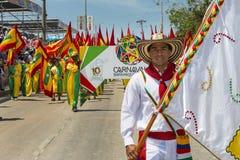 Carnaval de Barranquilla, en Colombie Photographie stock libre de droits