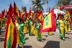 Carnaval de Barranquilla, en Colombie Photo libre de droits