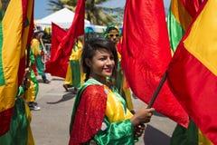 Carnaval de Barranquilla, en Colombie Photo stock