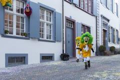 Carnaval 2017 de Basilea Imágenes de archivo libres de regalías