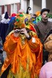 Carnaval 2017 de Basilea Imagen de archivo